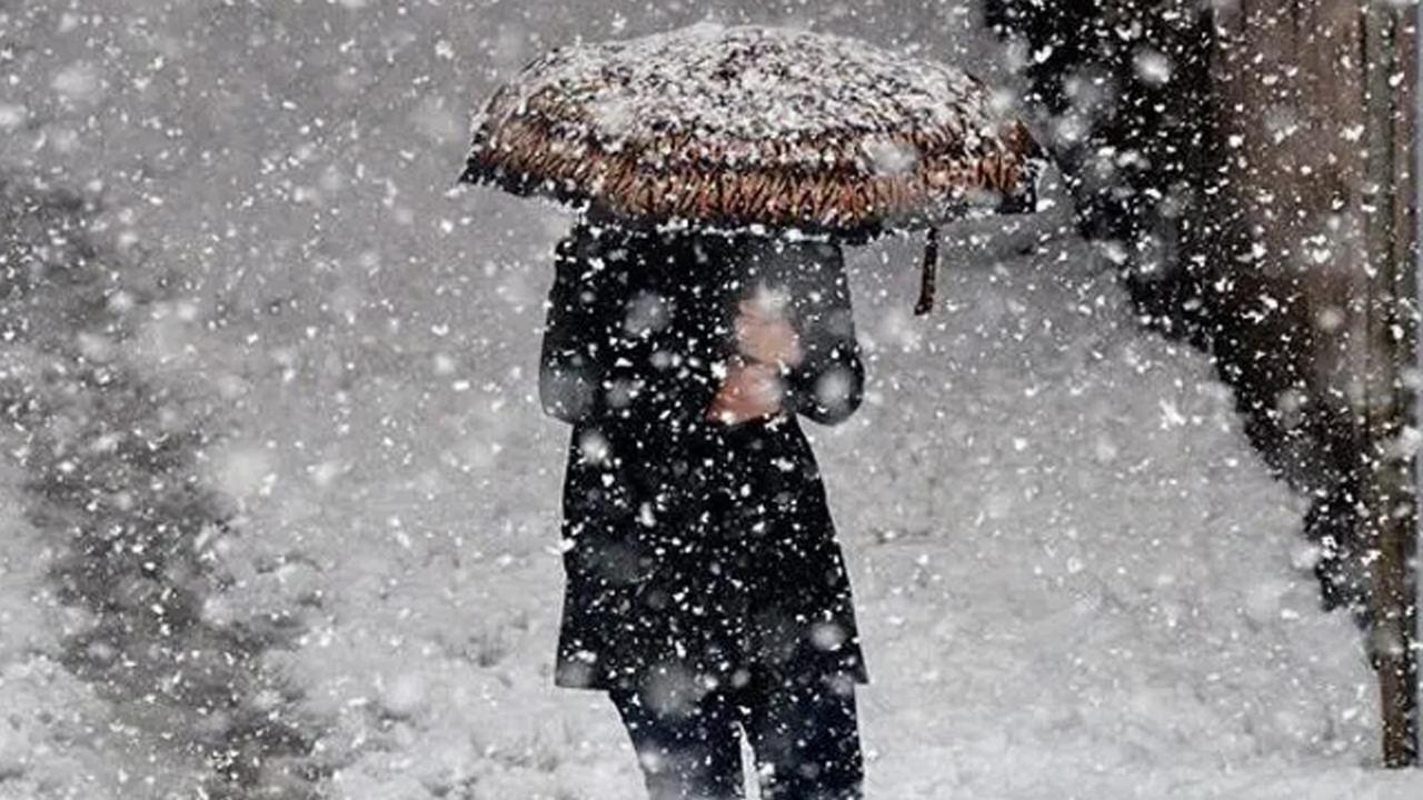 Kış bitmiyor! Meteoroloji'den birçok il için kar yağışı uyarısı