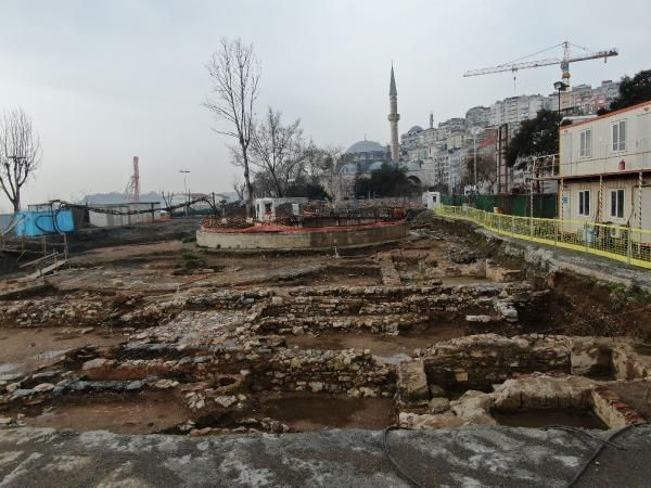 İstanbul'da Metro kazısında heyecanlandıran keşif - Resim: 1