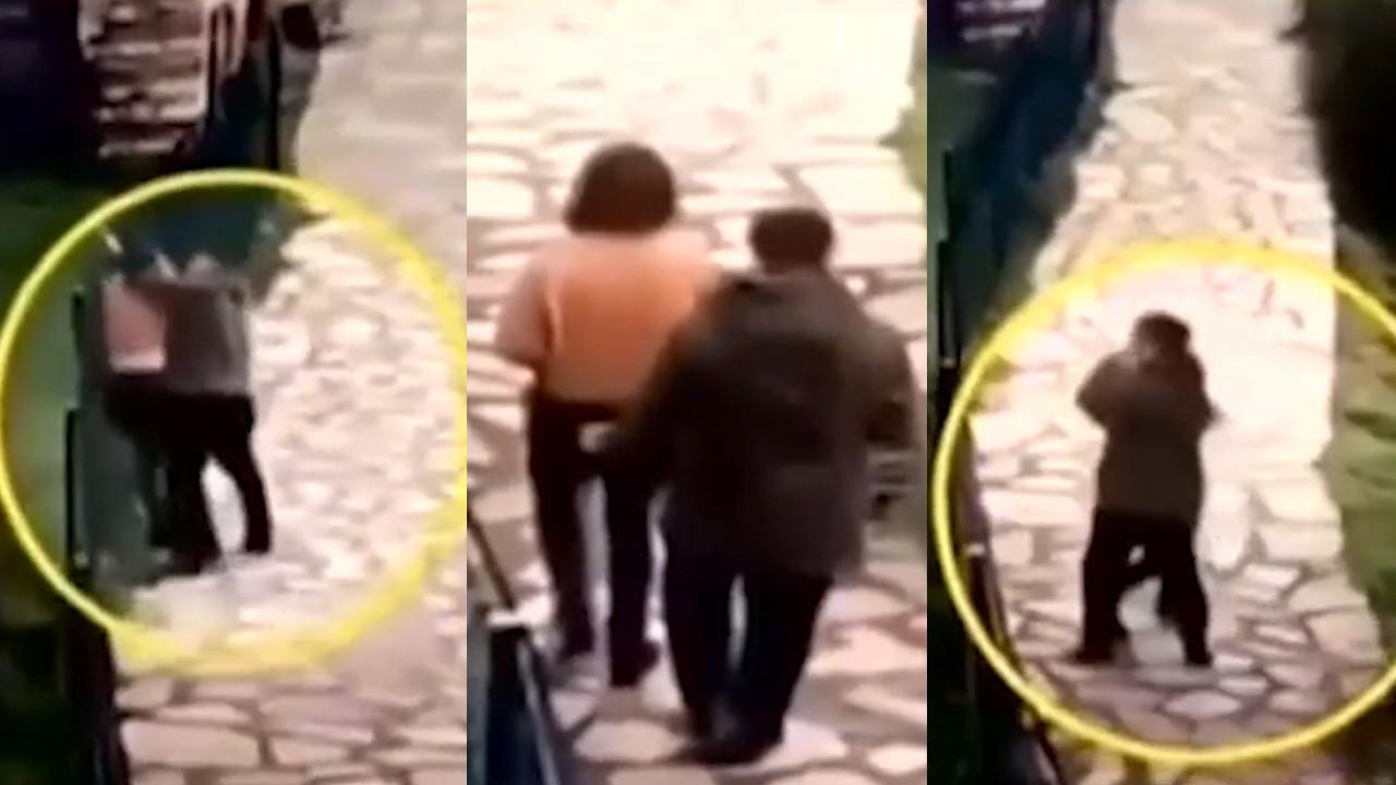 İstanbul'da genç kadına iğrenç taciz kamerada!