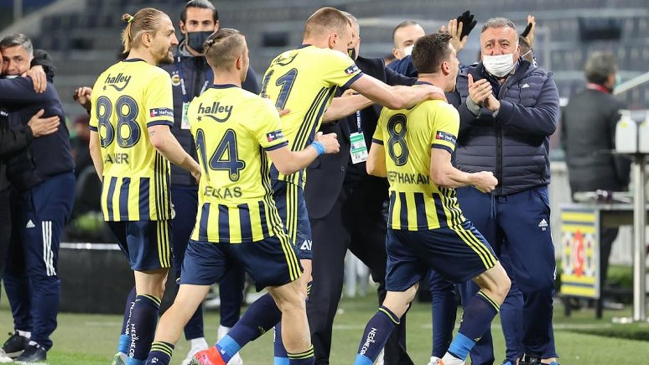 Fenerbahçe'den kritik maçta 3 gollü 3 puan