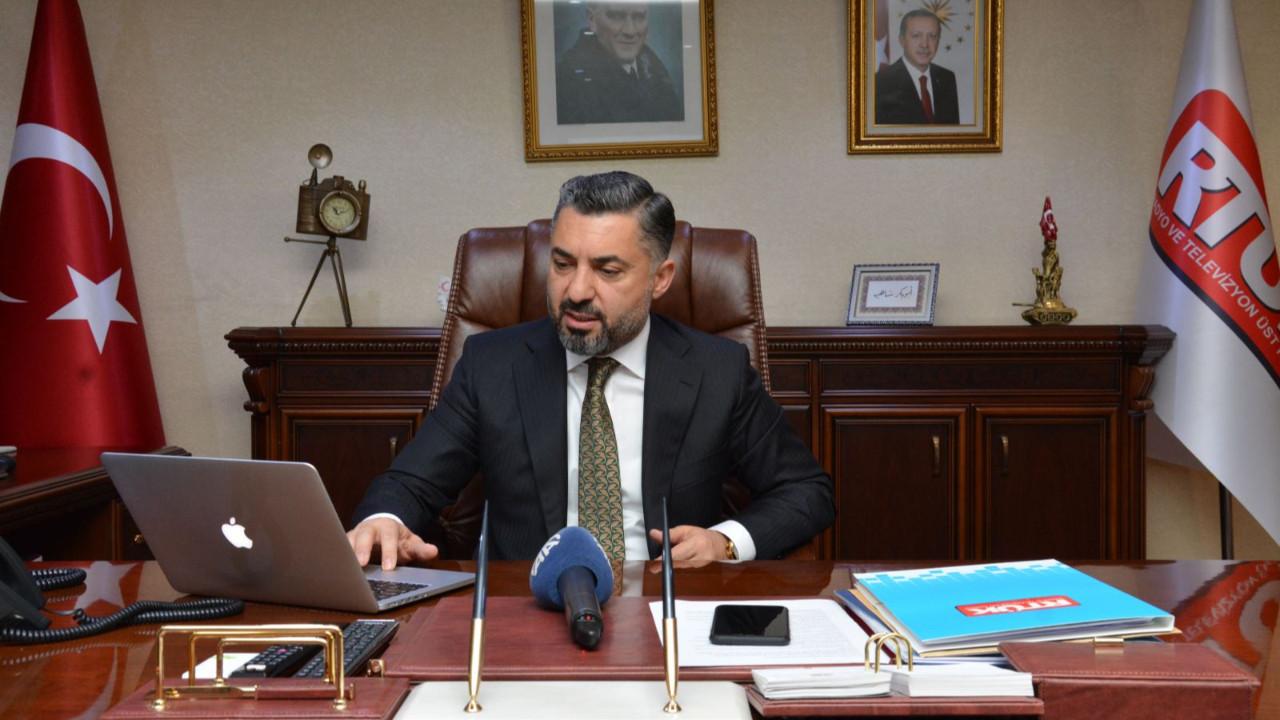 RTÜK Başkanı Ebubekir Şahin hakkında suç duyurusu