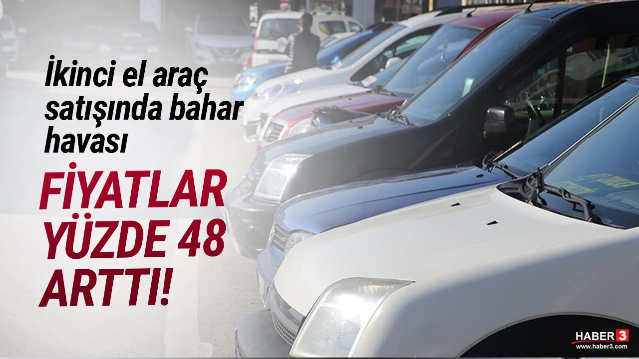 İkinci el otomobil pazarında bahar havası! Fiyatlar yüzde 48 arttı
