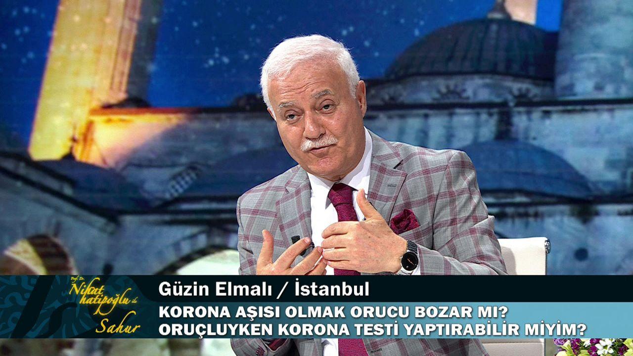 Nihat Hatipoğlu ''regl halindeyken dua okunur mu'' sorusuna bu yanıtı verdi - Resim: 2