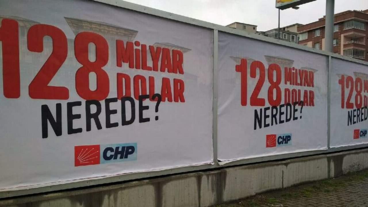 CHP'lilere '128 milyar dolar'' soruşturması
