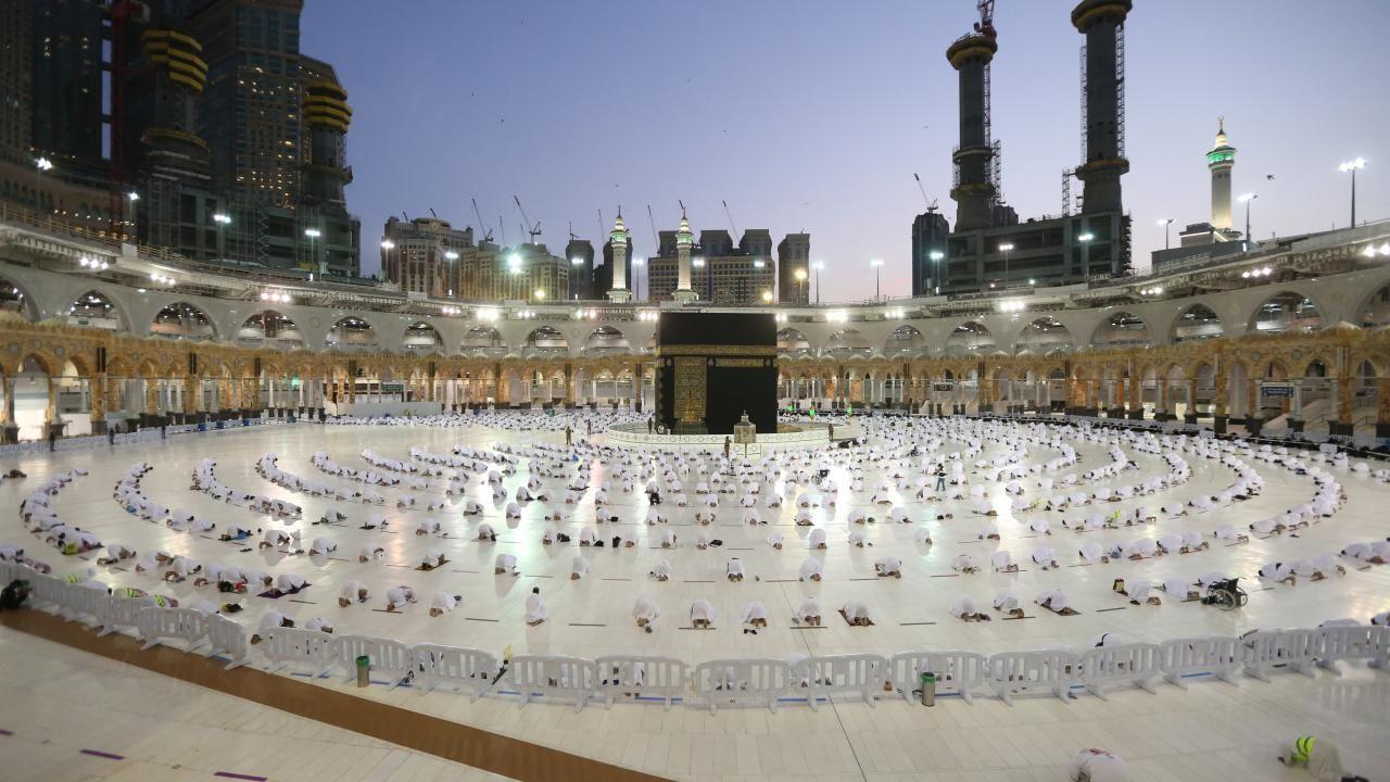 Kabe'de Ramazan'ın ilk teravih namazı - Resim: 2