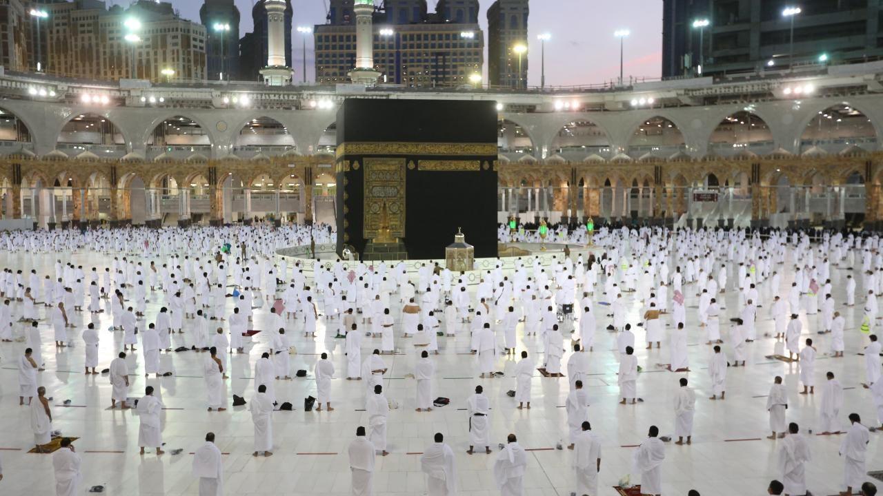 Kabe'de Ramazan'ın ilk teravih namazı - Resim: 3