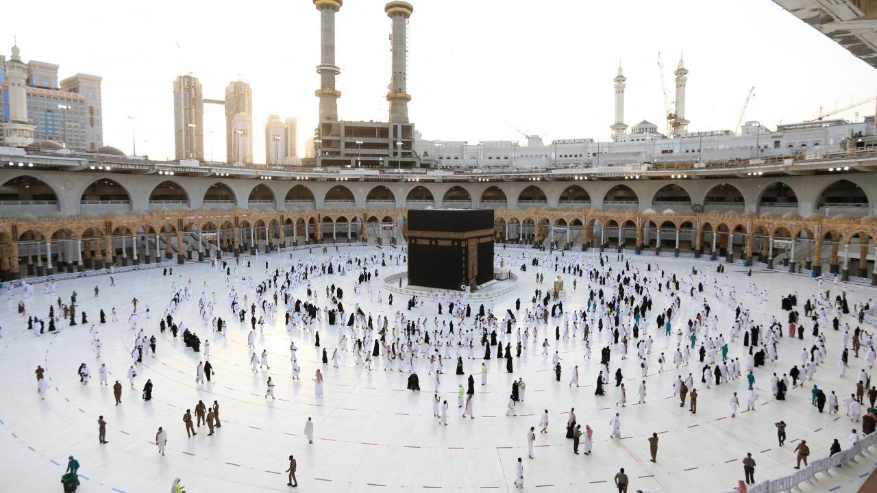 Kabe'de Ramazan'ın ilk teravih namazı - Resim: 4