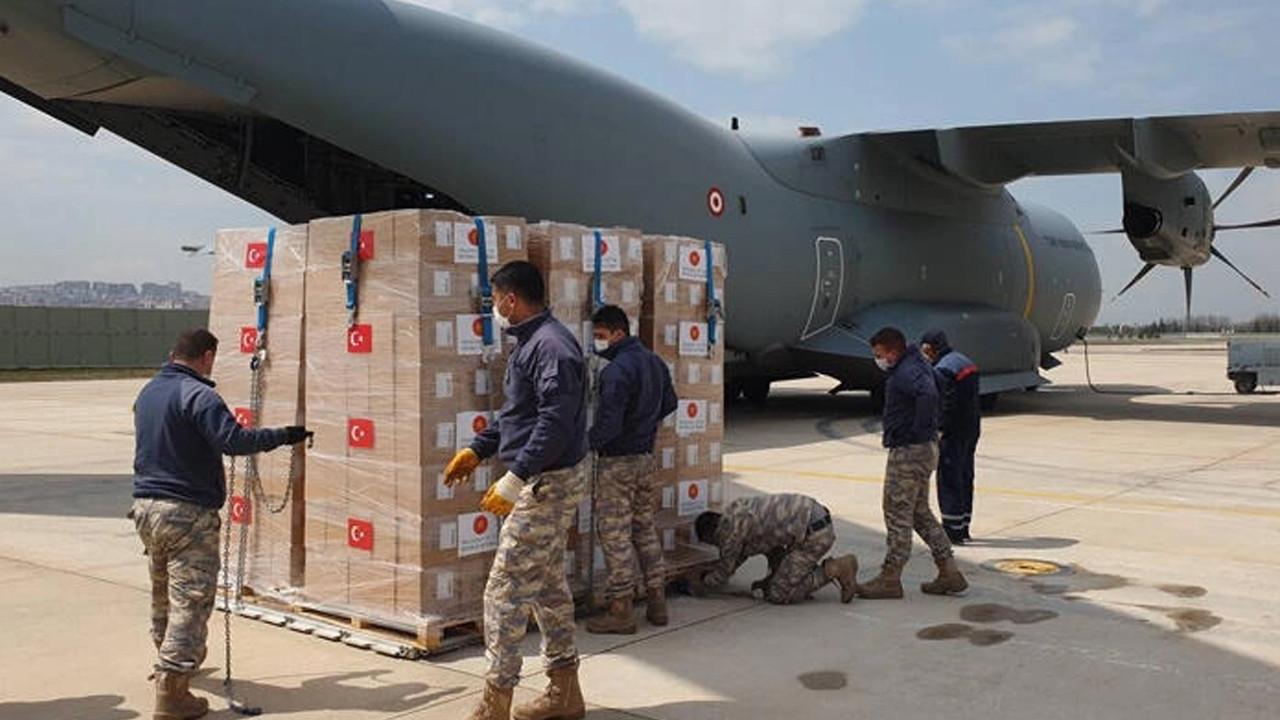 MSB paylaştı! 150 bin doz aşı Libya'ya gönderilecek