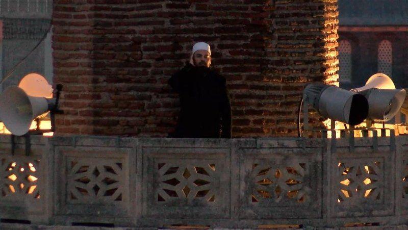Ayasofya Camii'nden iftar için ilk ezan - Resim: 2