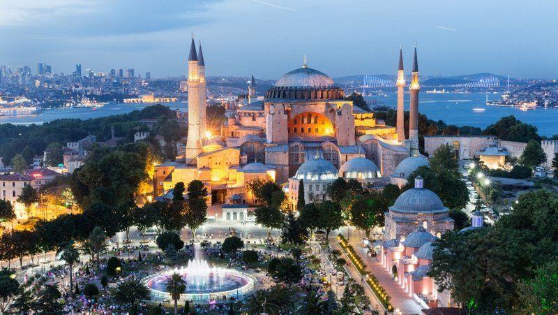 Ayasofya Camii'nden iftar için ilk ezan - Resim: 1