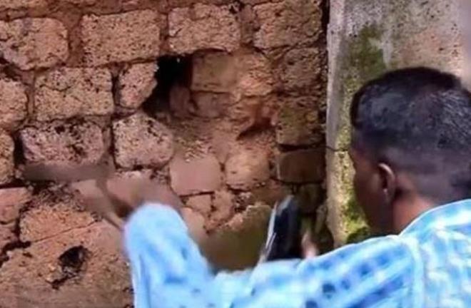 Duvardan gelen sesleri kontrol etmek istedi, hayatının şokunu yaşadı - Resim: 4