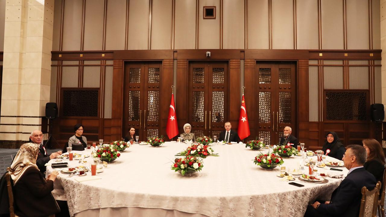 Cumhurbaşkanlığı'nda iftar! Erdoğan iftar verdi