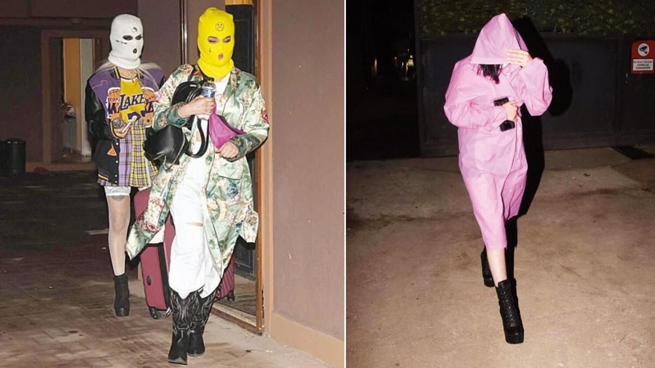 Fenomenlerin kar maskeli koronavirüs partisi! Bu halde yakalandılar
