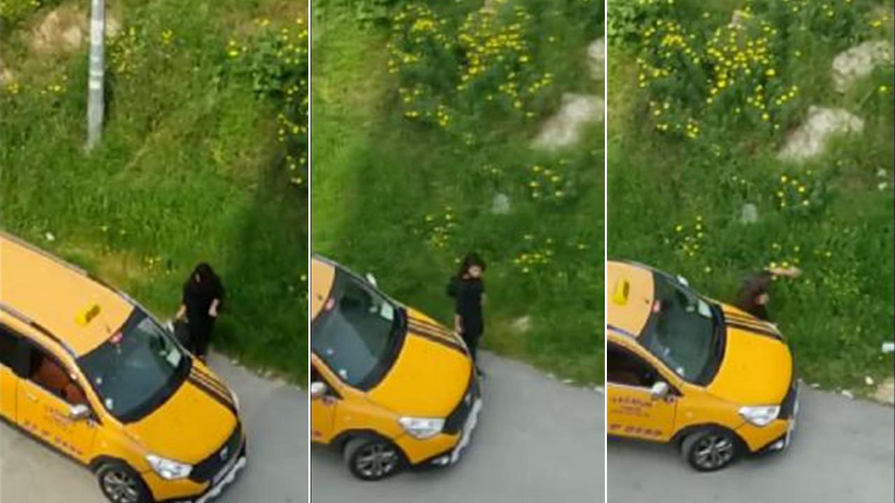 Taksiyle kardeşine çarpmıştı! Savunması pes dedirtti!