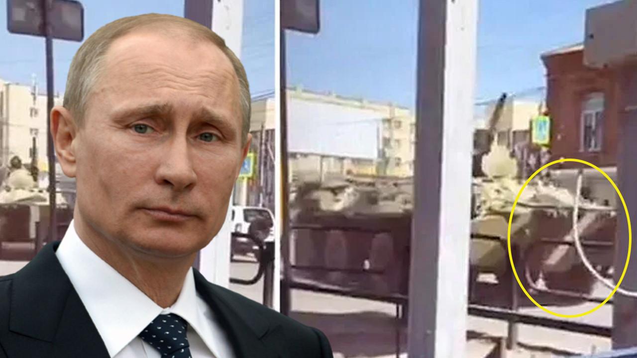53 yıl sonra bir ilk! Ruslar savaş boyalarını sürdü