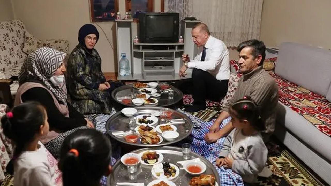 CHP'den Erdoğan'ın iftar fotoğrafına tepki
