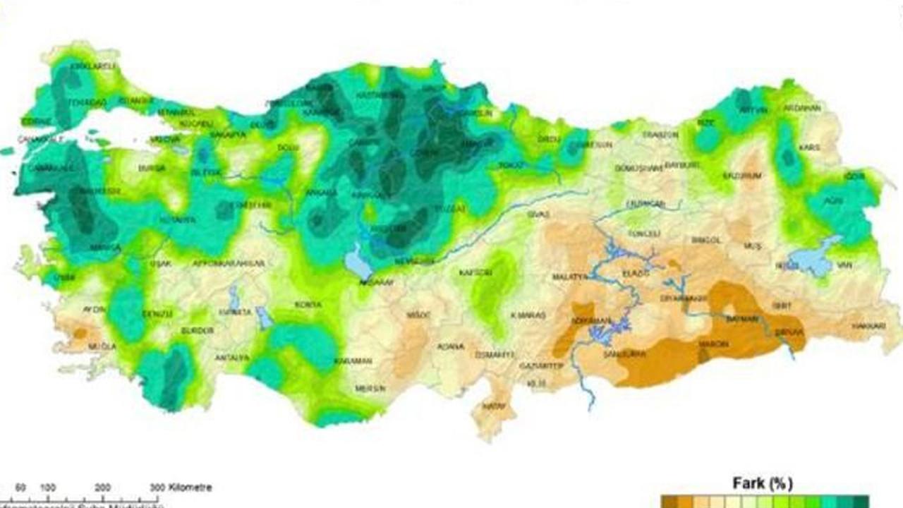 Meteoroloji haritayla duyurdu! 5 bölgede rekor artış