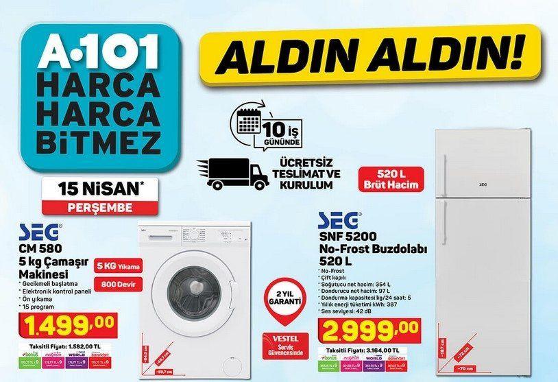 A101 15 Nisan 2021 aktüel ürünler kataloğu - Resim: 3
