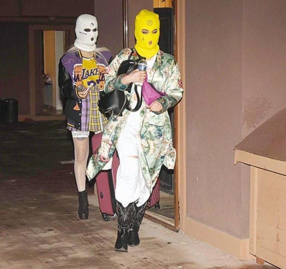 Fenomenlerin kar maskeli koronavirüs partisi! Bu halde yakalandılar - Resim: 1