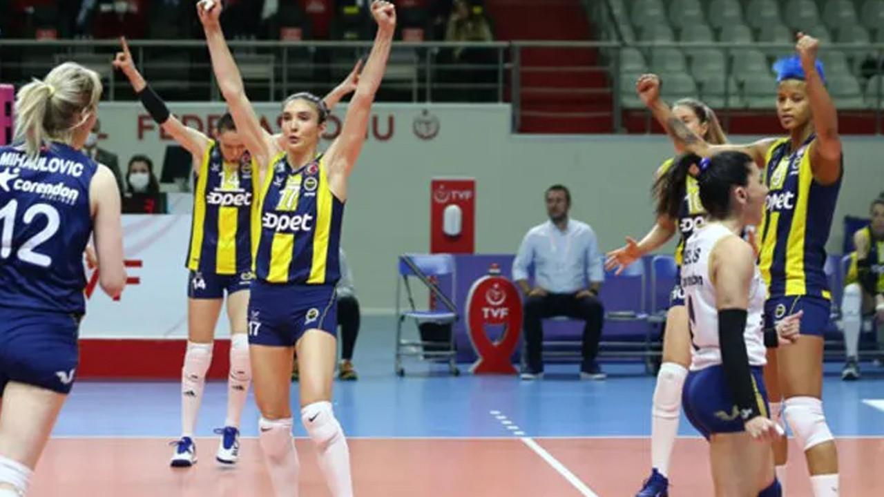 Fenerbahçe Opet, koronavirüs vakaları nedeniyle maça çıkmayacak