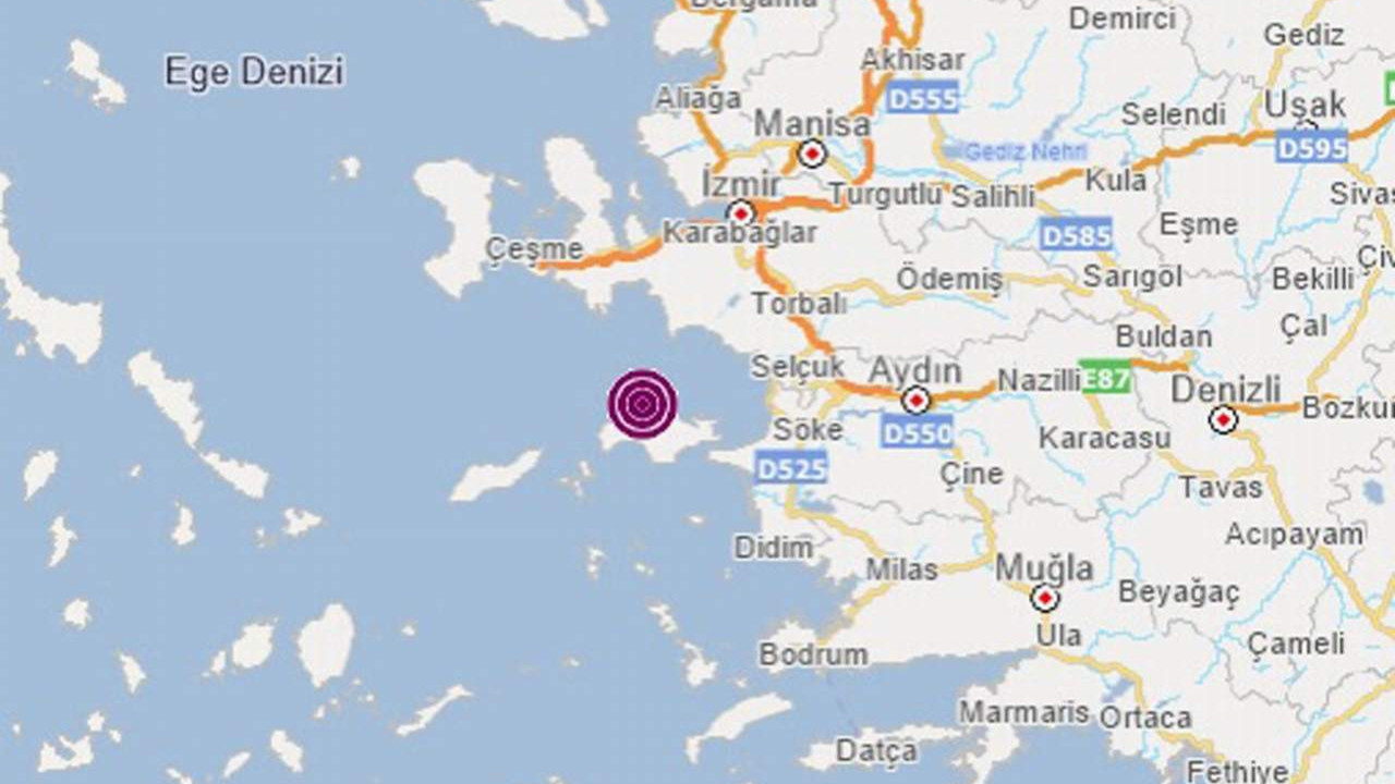 Ege sallanıyor! İzmir ve Çanakkale açıklarında deprem