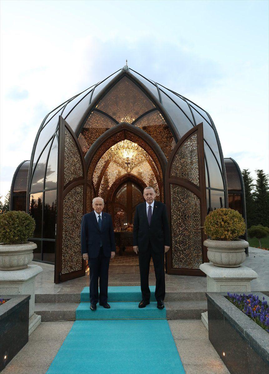 Cumhurbaşkanı Erdoğan ve Bahçeli'den başbaşa iftar - Resim: 2