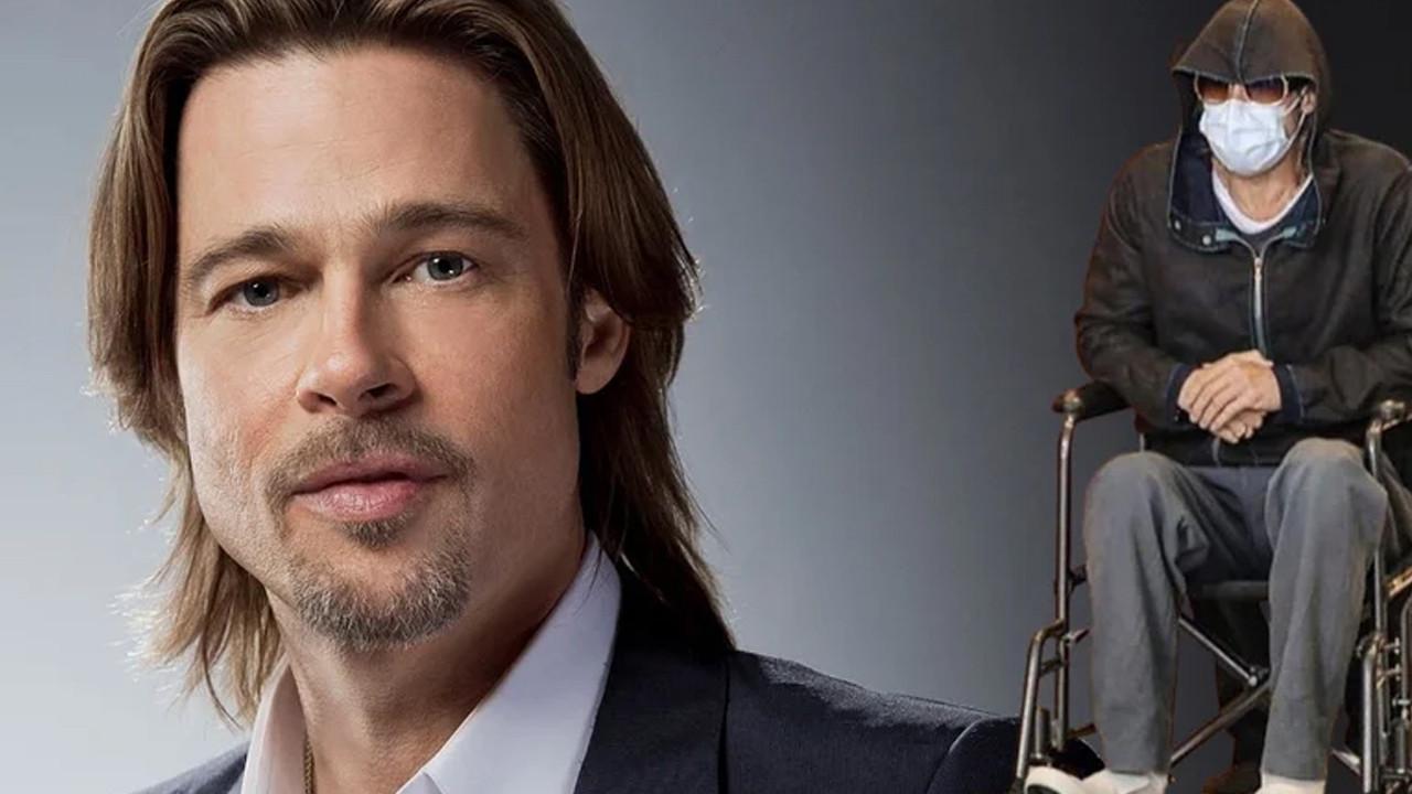 Brad Pitt'in içler acısı hali hayranlarını üzdü