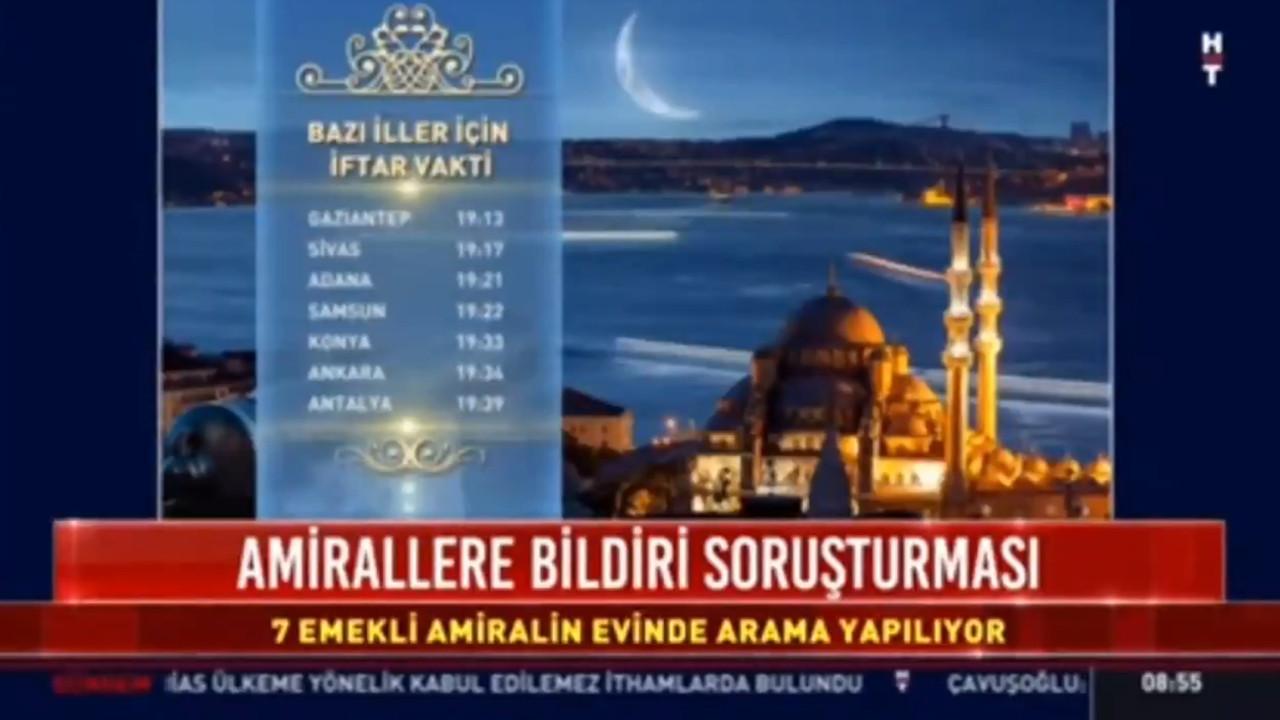 Habertürk'ün ''iftar'' tercihi izleyiciyi şoke etti