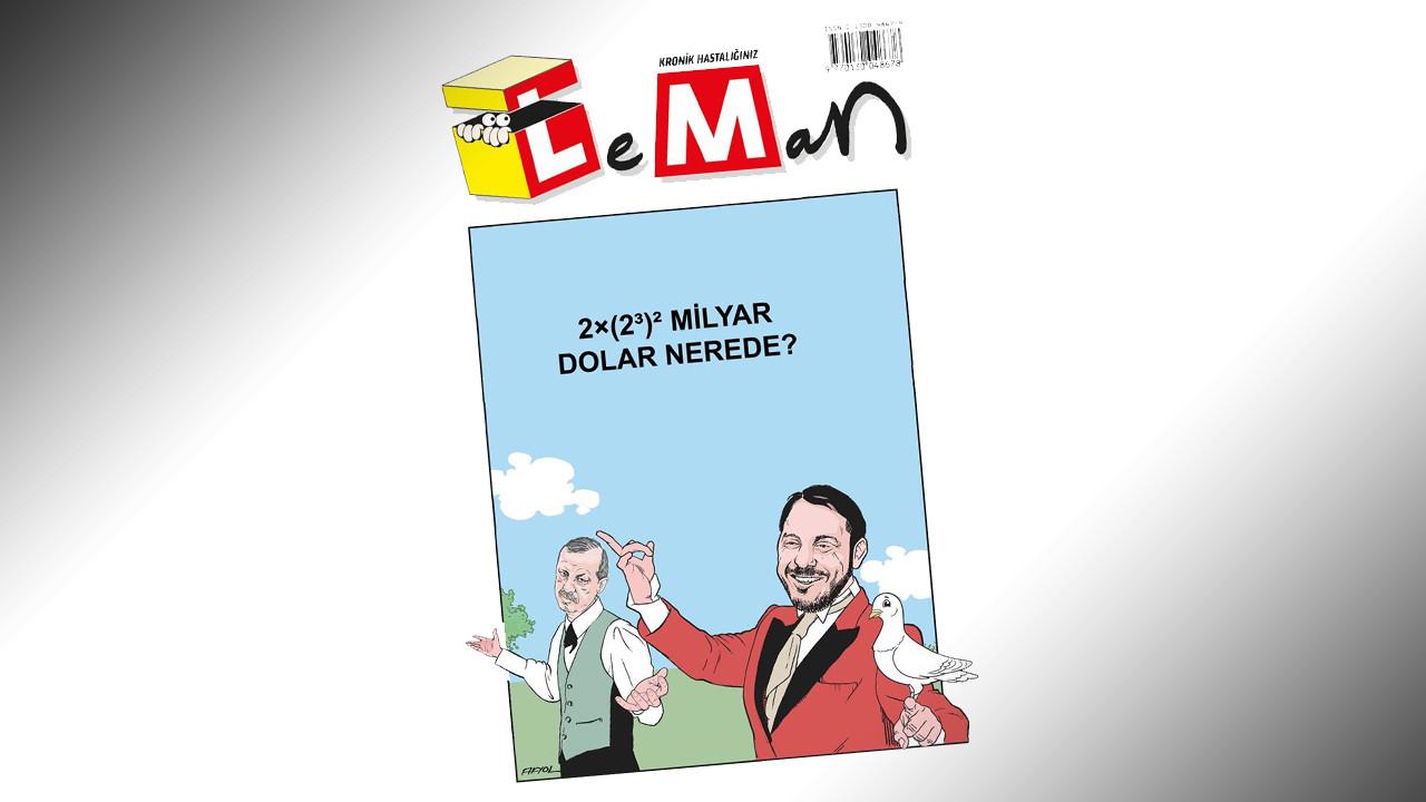 LeMan'dan '128 milyar dolar nerede' kapağı