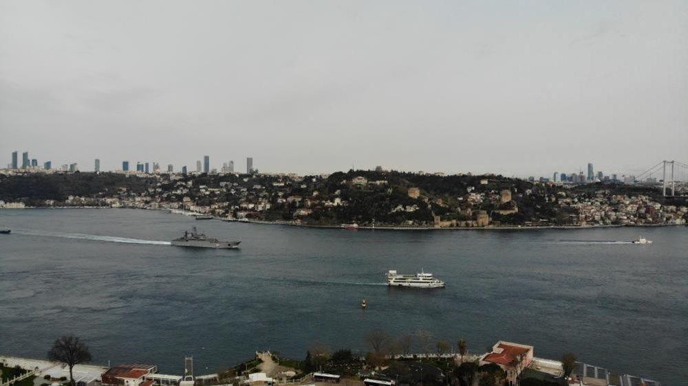 Rus savaş gemileri İstanbul Boğazı'ndan geçti - Resim: 4