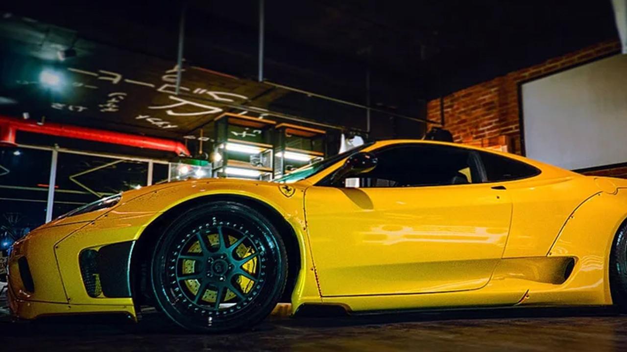 Milyonluk Ferrari'ye özel tasarım