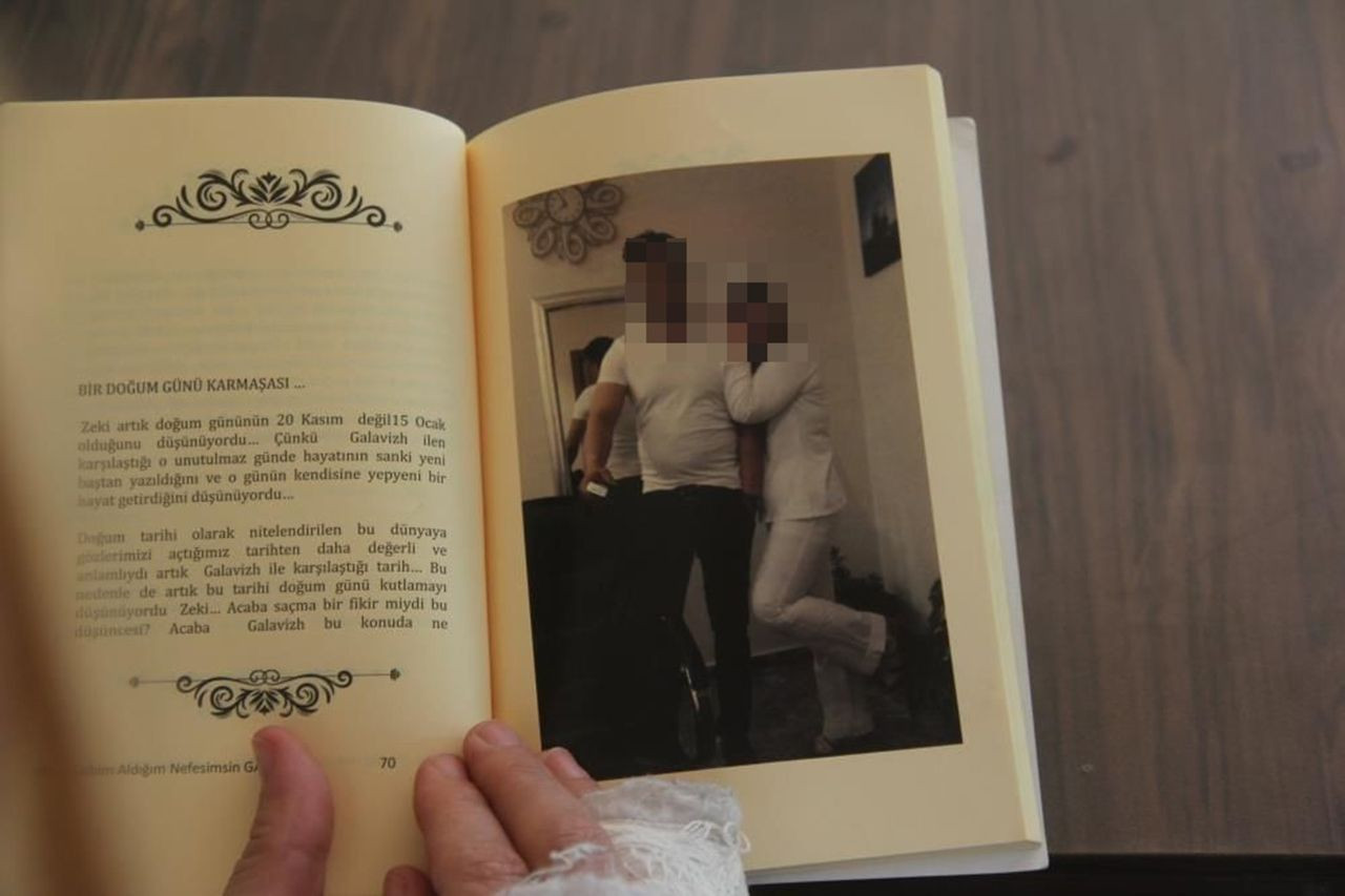 Öldüresiye dövdüğü karısı için aşk kitabı yazmış - Resim: 4