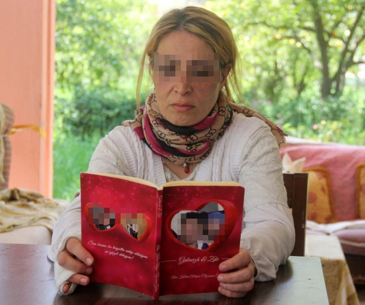 Öldüresiye dövdüğü karısı için aşk kitabı yazmış - Resim: 1