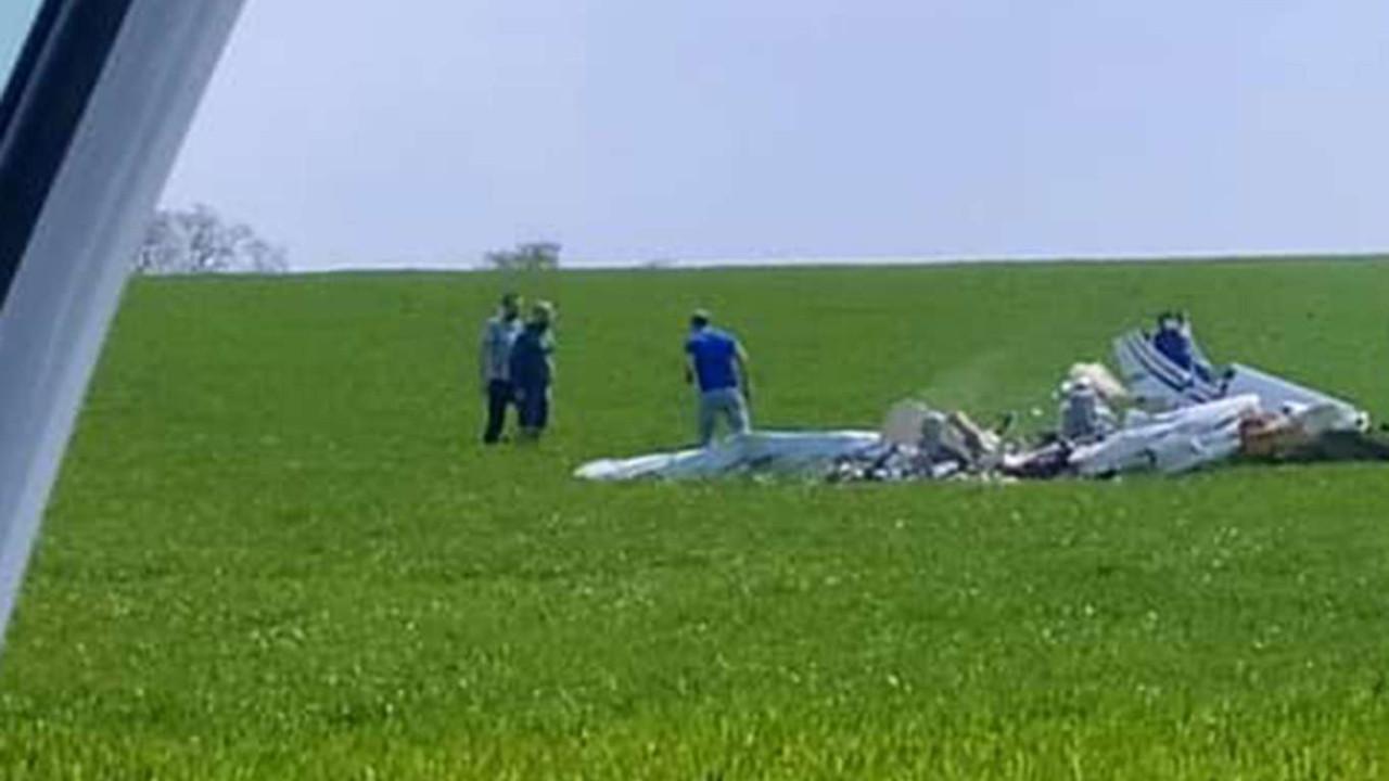 Fransa'da uçak düştü! Ölenler var