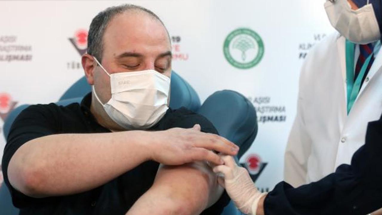 Yerli aşı olan Bakan Varank'tan yan etki açıklaması