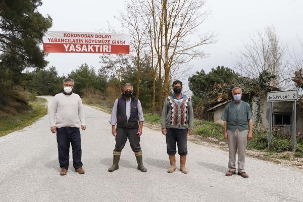 Köye yabancı girişi yasaklandı, vaka sıfırlandı - Resim: 2