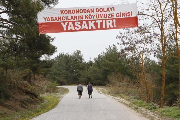 Köye yabancı girişi yasaklandı, vaka sıfırlandı - Resim: 1