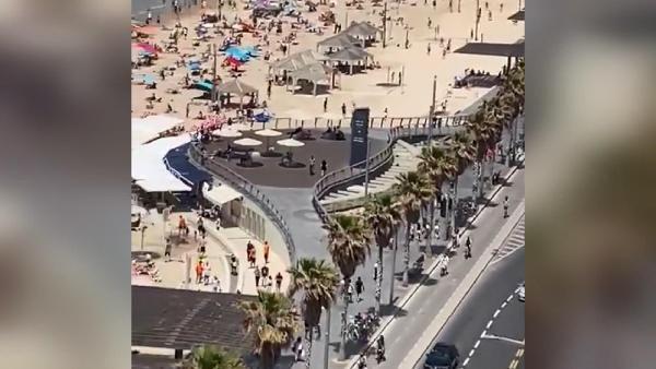 Maske yasağı kalktı, halk plajlara akın etti! - Resim: 4