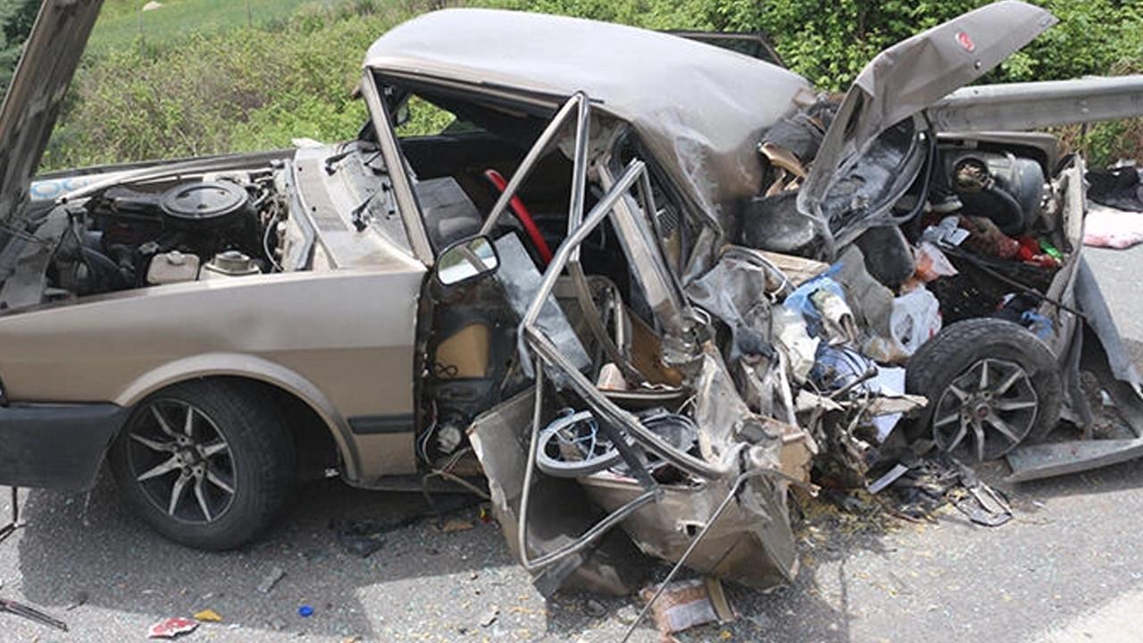 Adana'da TIR kazası: 4 yaralı