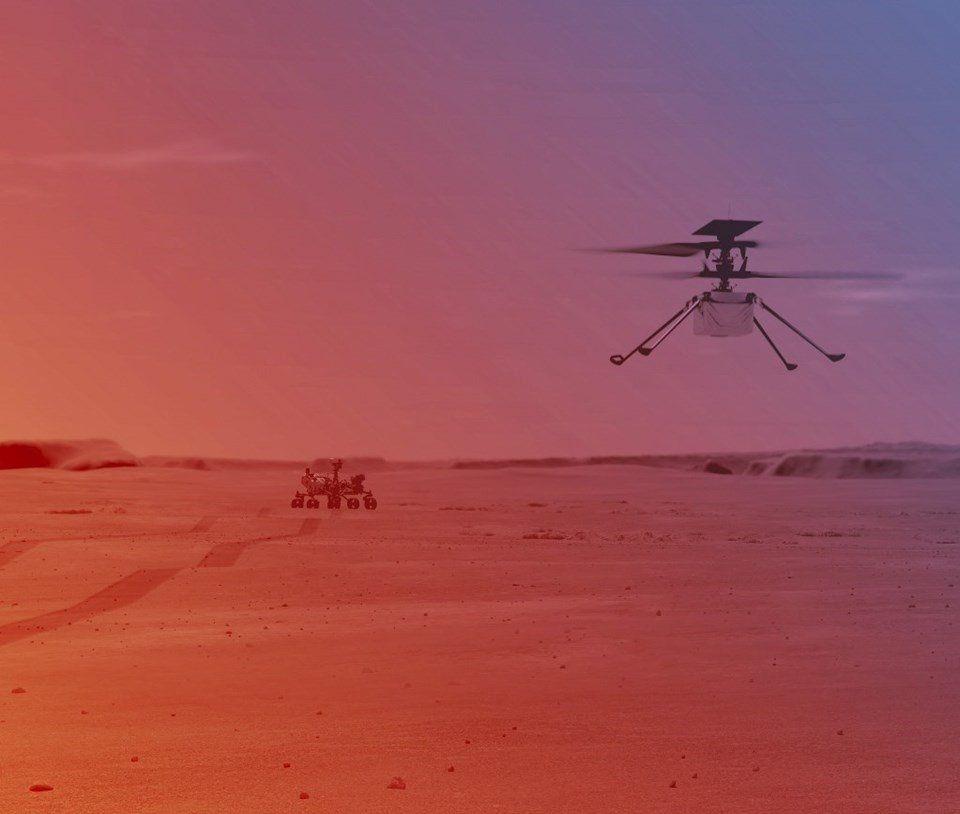 NASA'dan Mars'ta tarihi hamle - Resim: 1