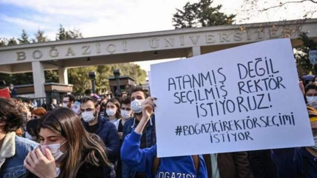 Boğaziçi'nde 97 öğrenciye dava açıldı
