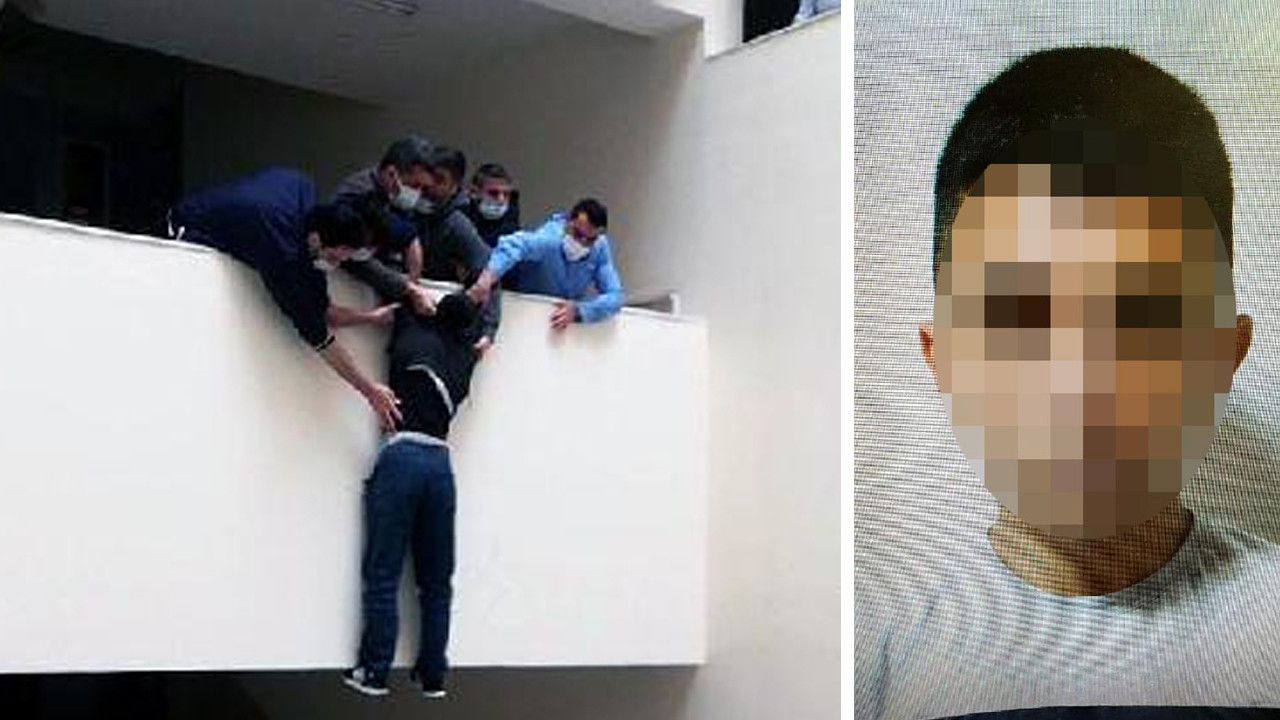 Tutuklanınca adliyede intihara kalkıştı