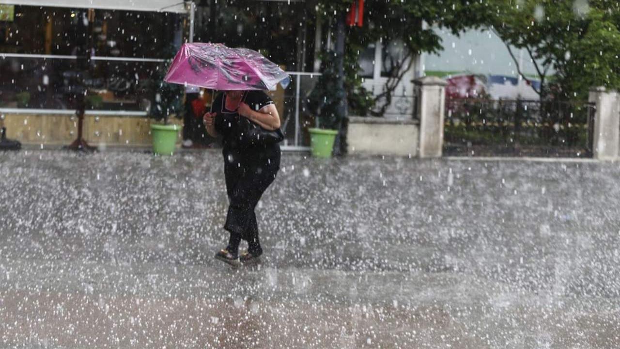 Meteoroloji'den 4 il için ''dolu yağışı'' uyarısı!