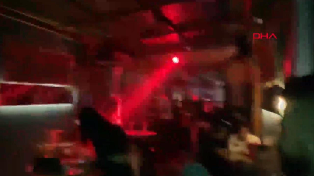 İstanbul'da skandal görüntüler! Lokantayı gece kulübüne çevirip...