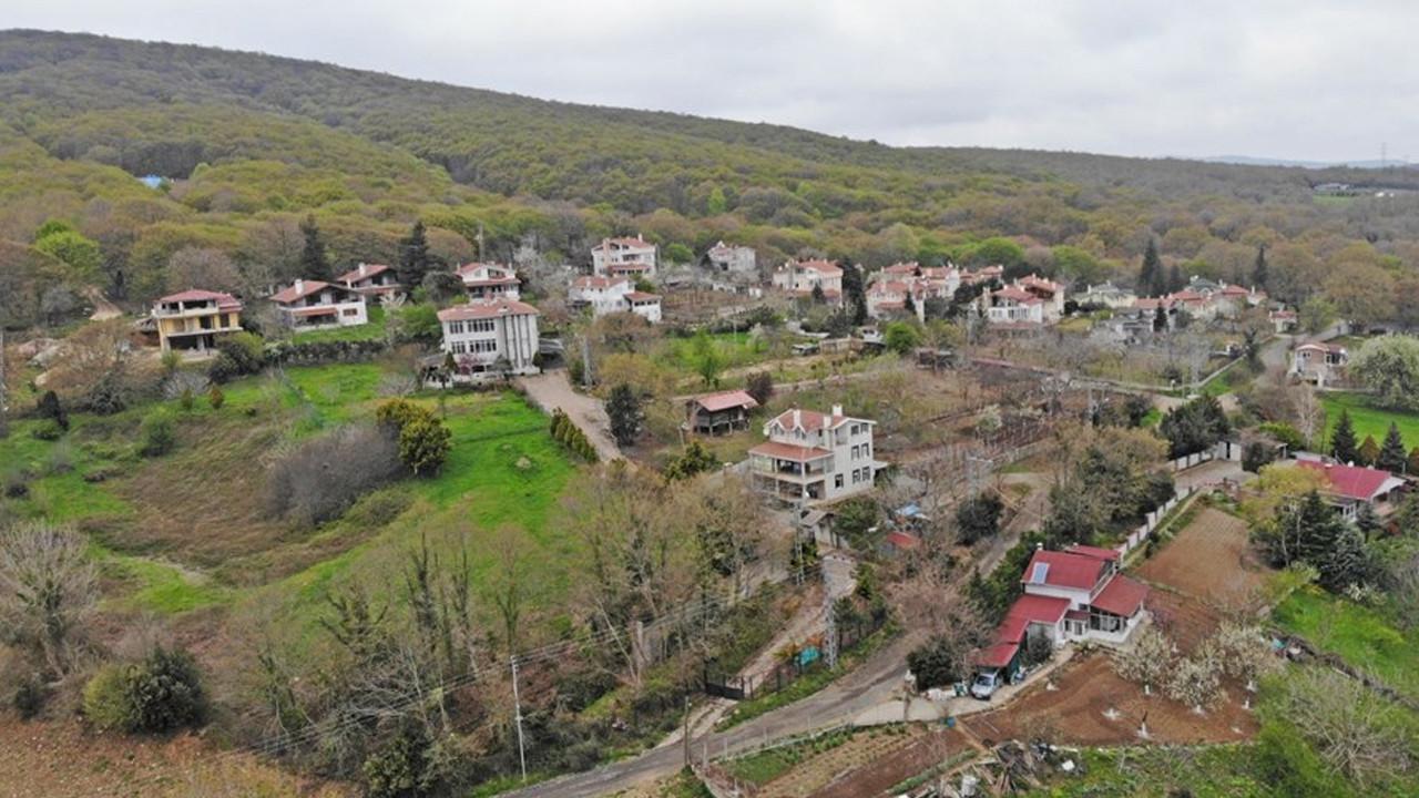 İstanbul'un 600 yıllık köyü drone ile görüntülendi