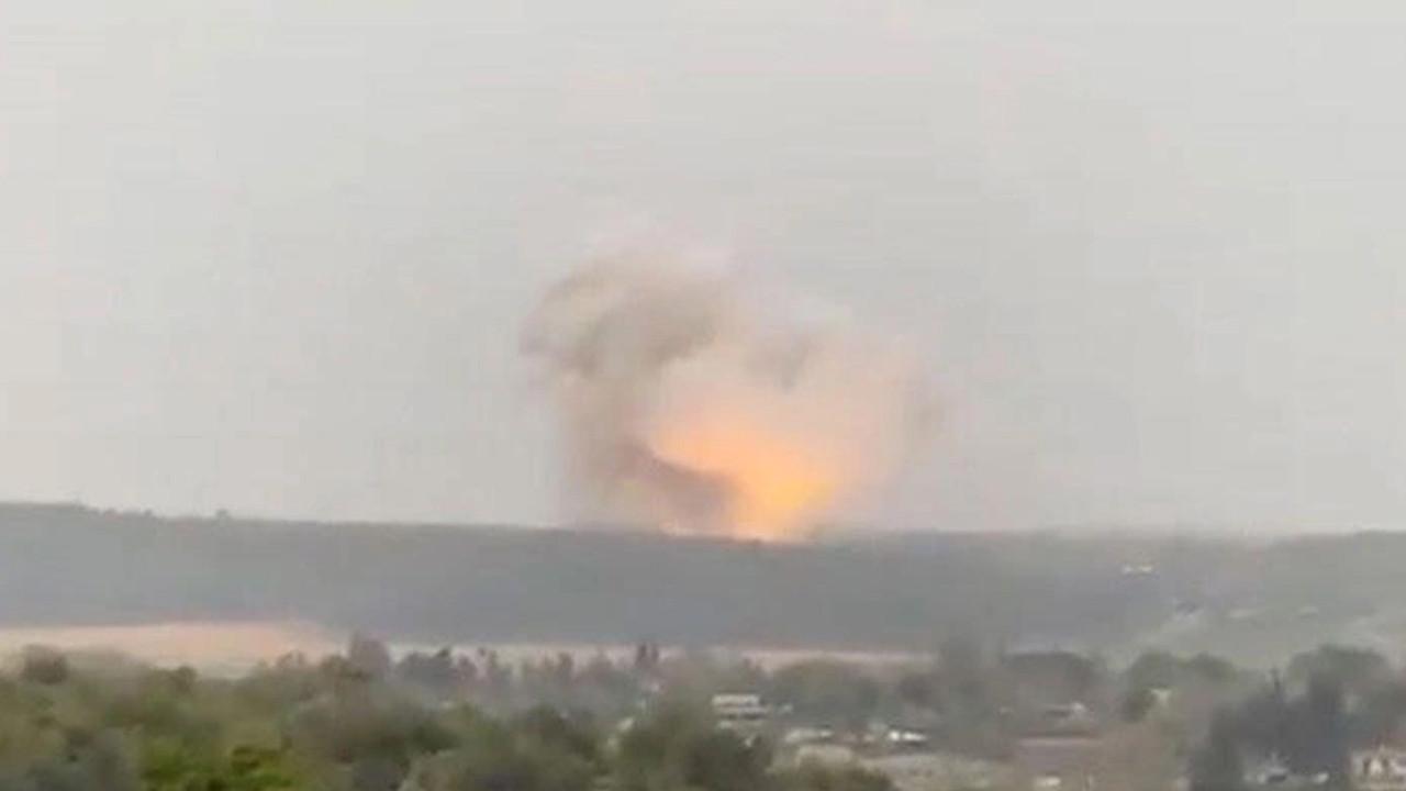 Füze fabrikasında büyük patlama