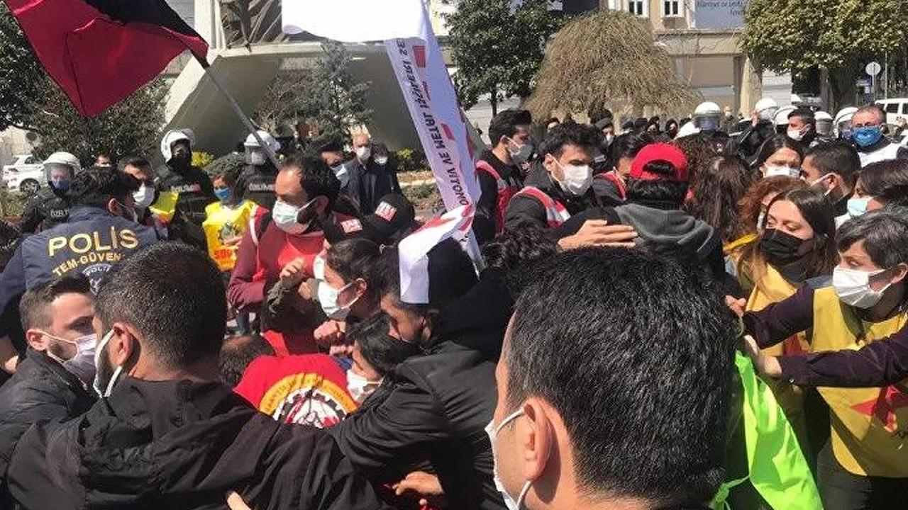 İstanbul'da polis müdahalesi: Çok sayıda gözaltı var