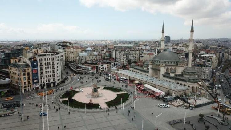 İşte Taksim Camii'nin son hali! Açılış için gün sayıyor - Resim: 1