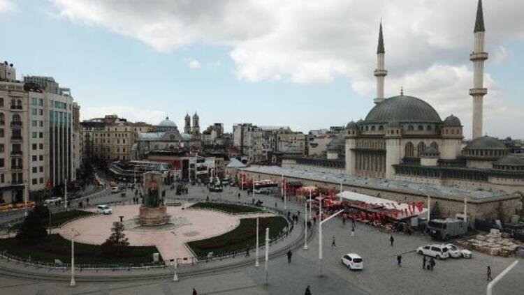 İşte Taksim Camii'nin son hali! Açılış için gün sayıyor - Resim: 2