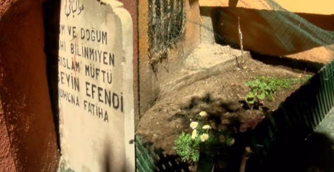 Denizde idam ettirilen Şeyhülislam'ın mezarı şoke etti! - Resim: 1